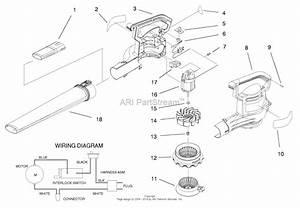 Toro 51587  Super Blower Vac  1998  Sn 89000001