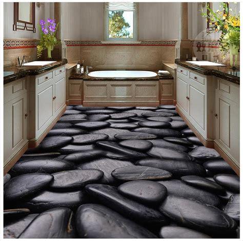 home decoration  floor stickers  pvc floor wallpaper