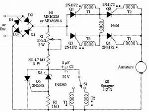 Speed And Direction Control For Dc Motors