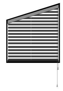 Arched Blinds and Angled Shades | Motorized Blinds