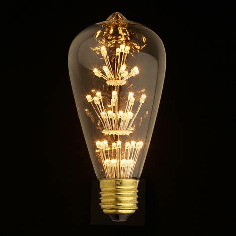 e27 led edison fireworks light bulb type s