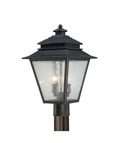 outdoor l post lights quoizel can9011 carson 2 light outdoor post l capitol