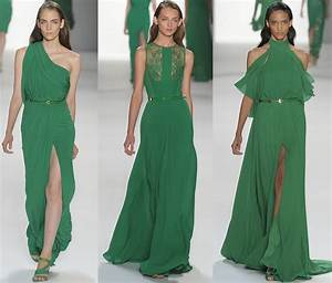 emerald green bridal party gowns onewedcom With emerald green wedding dresses