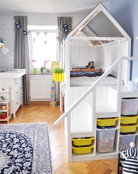 Ikea Kinderbett Umbauen by Hausbett Diy Anleitung Zum Bau Eines Ikea Kura Hacks Mit