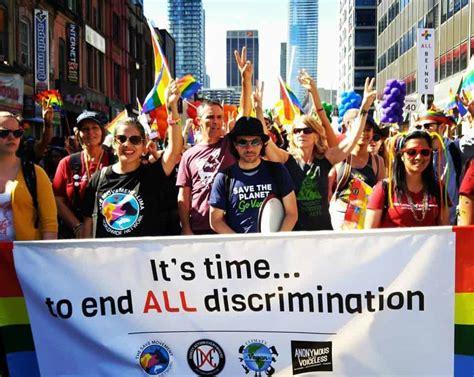 grassroots aras march  toronto pride parade animal