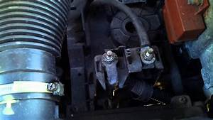 Where Is The Jump Start Terminal In A Citroen Picasso 2000