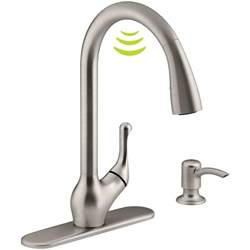 kitchen faucets for less touch activated kitchen faucet 2017 including faucets touchless commercial picture trooque