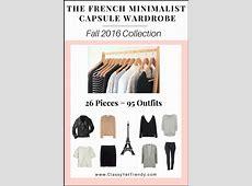 The French Minimalist Capsule Wardrobe EBook Fall 2016