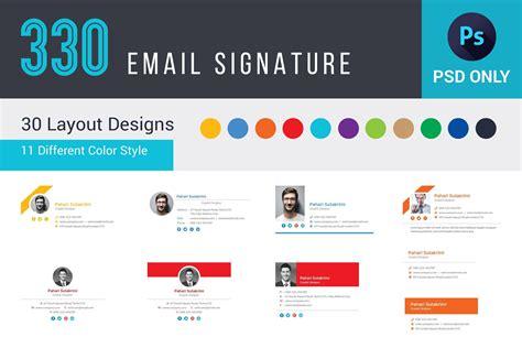 email signature template  email signature template set
