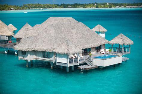 Wasserbungalow Bora Bora St Regis Hotel Hd Desktop