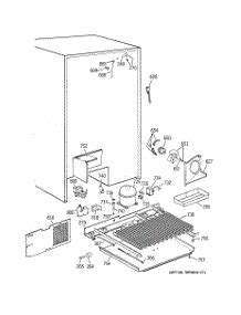 parts  ge tpxbrdabb refrigerator appliancepartsproscom