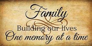 Family Quotes & Sayings on Life Wall Decals & Stickers