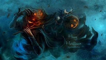 Halloween Backgrounds Scary Wallpapers Scarecrow Desktop Spooky
