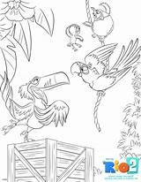 Rio Coloring Sheets Printable Blu Colouring Printables Disney Rio2 Activity Trip Road Characters Giveaway Sky Fheinsiders Film Sheet Dvd Kiddycharts sketch template