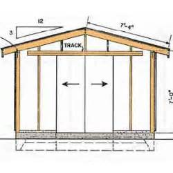 yard shed plans 8x12 diy sanglam