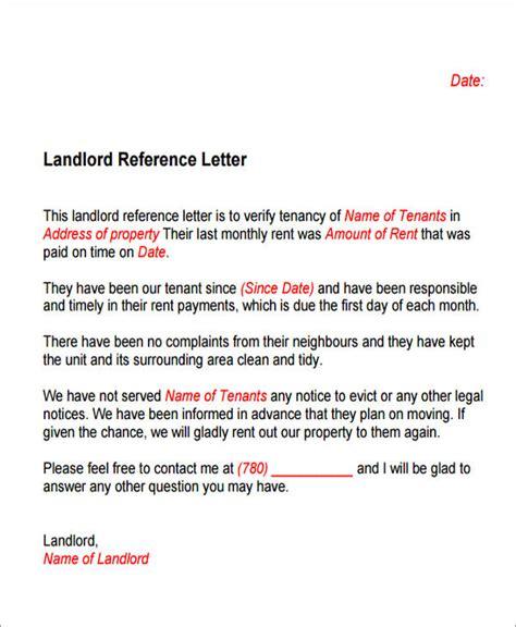 sample housing reference letter samples templates