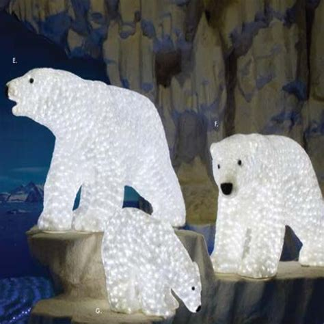 outdoor commercial grade led acrylic animals figures led
