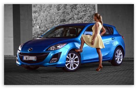 Woman Mazda 4k Hd Desktop Wallpaper For 4k Ultra Hd Tv