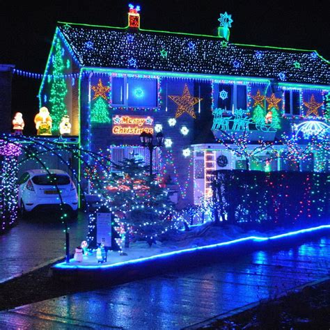 best christmas light displays 50 spectacular home christmas lights displays style estate