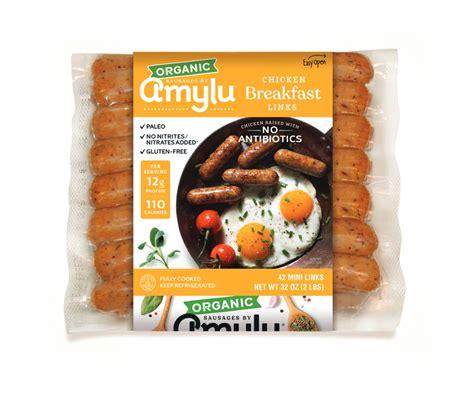 chicken breakfast links amylu foods