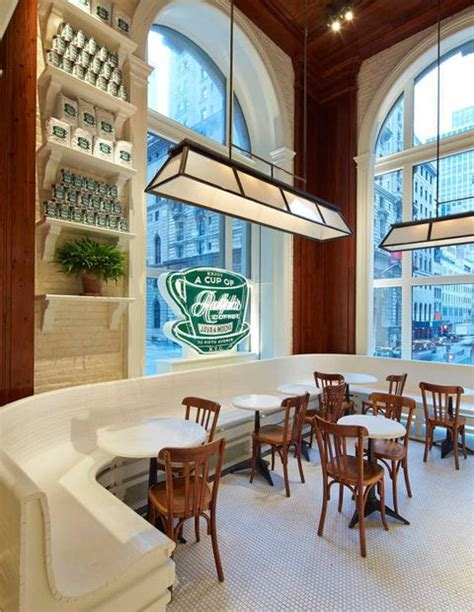 Ralph's coffee, ralph lauren's first coffee shop, is located on the second floor of the polo ralph lauren flagship on 5th ave and 55th st. Ralph Lauren Coffee