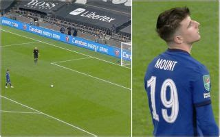 Video: Chelsea out of cup after Mount misses penalty vs Spurs