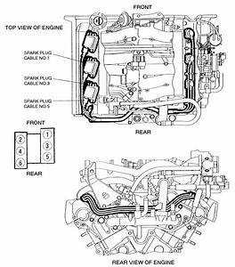 1965 67 Big Block Spark Plug Wire Routing Diagram View