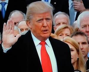 President Donald J. Trump taking the Oath of Office Jan ...
