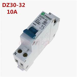 Mini Circuit Breaker Dmwd Dpn Mini Dz30 32 1p N 10a 220v