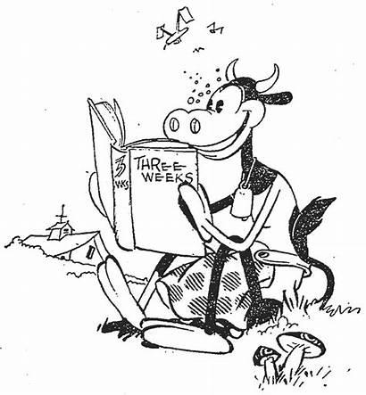 Clarabelle Cow Cartoons Mouse Cartoon Elinor Reading
