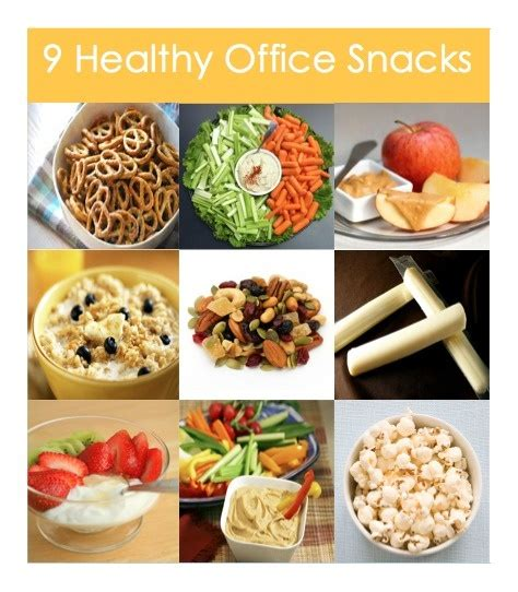Healthy Office Snacks To by 9 Healthy Office Snacks The Daily Grind