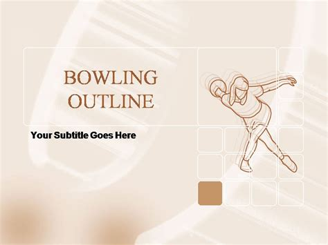 bowling outline  template  backgrounds templates