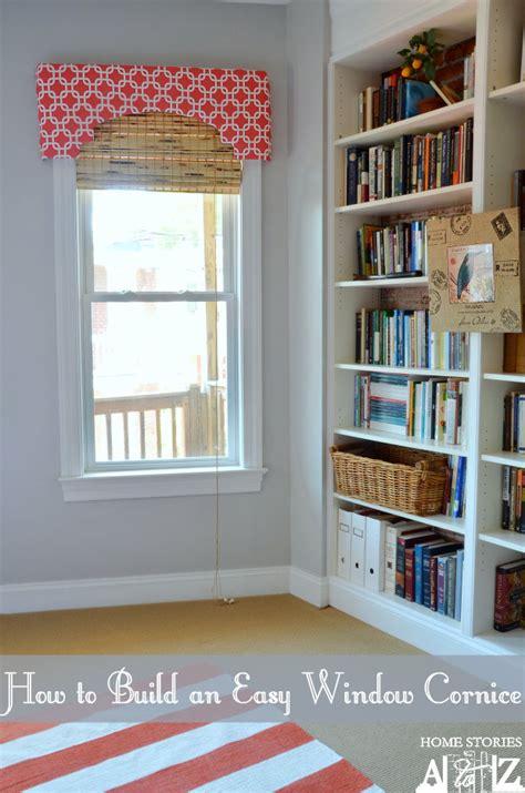 build  window cornice