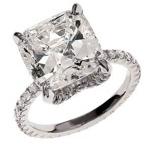 5 ct engagement rings ivanka engagement ring cushion 5 ct buy me a rock