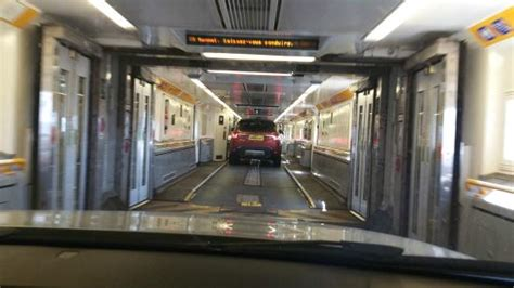 Driving The Length Of The Train