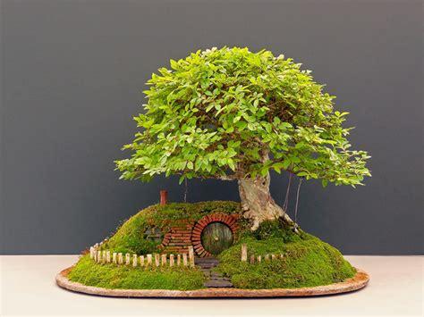 Small Kitchen Design Ideas 2014 - reinterpretation of tolkien 39 s fantastic hobbit home chris guise 39 s bonsai artwork freshome com
