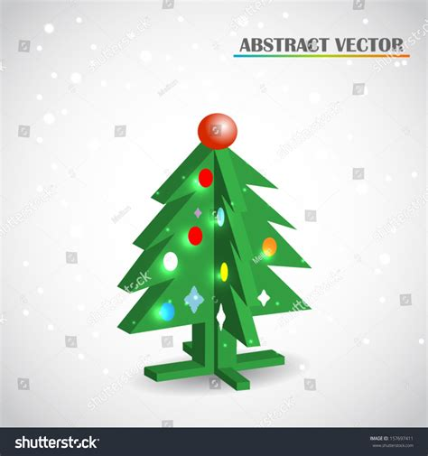 The best selection of royalty free christmas tree vector art, graphics and stock illustrations. Christmas Tree 3d Vector - 157697411 : Shutterstock