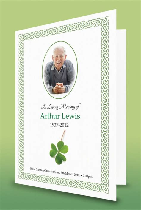 irish funeral order  service funeral order  service
