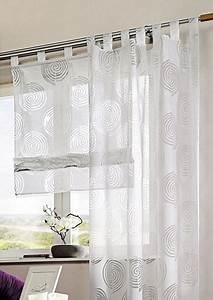 Gardinen Mit Verdeckten Schlaufen : vorhang wei transparent ~ Markanthonyermac.com Haus und Dekorationen