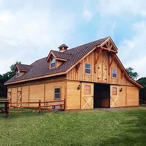 Barn Pros post-frame Barn Kit Buildings
