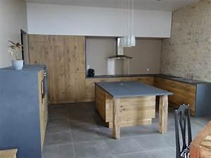 Caisson De Cuisine Ikea : cuisine r novation d 39 une grange en maison d 39 habitation ~ Dailycaller-alerts.com Idées de Décoration