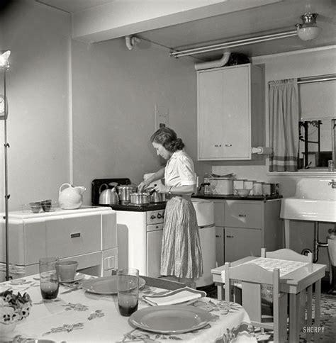 dream kitchen  shorpy historical