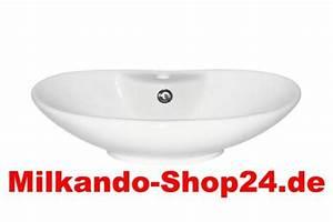 Aufsatz Waschtisch Unterbau : waschbecken oval g nstig sicher kaufen bei yatego ~ Indierocktalk.com Haus und Dekorationen