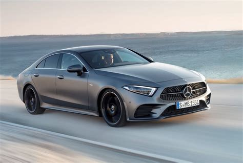 mercedes benz cls revealed debuts inline  engines
