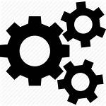 Gears Icon System Cogs Settings Machine Configuration