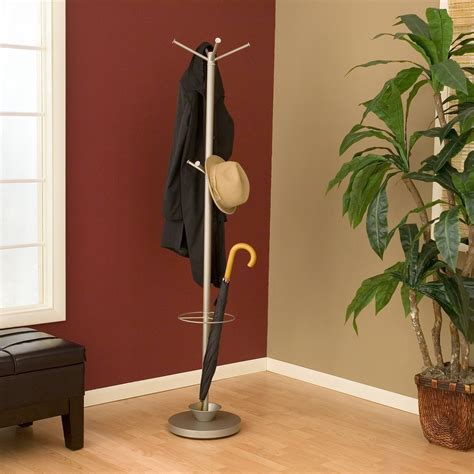 coat rack with umbrella stand adesso quatro metal standing coat rack and umbrella stand