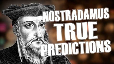 10 Nostradamus True Predictions - YouTube