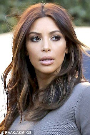 Kim Kardashian ditches the blonde bombshell look in favour ...