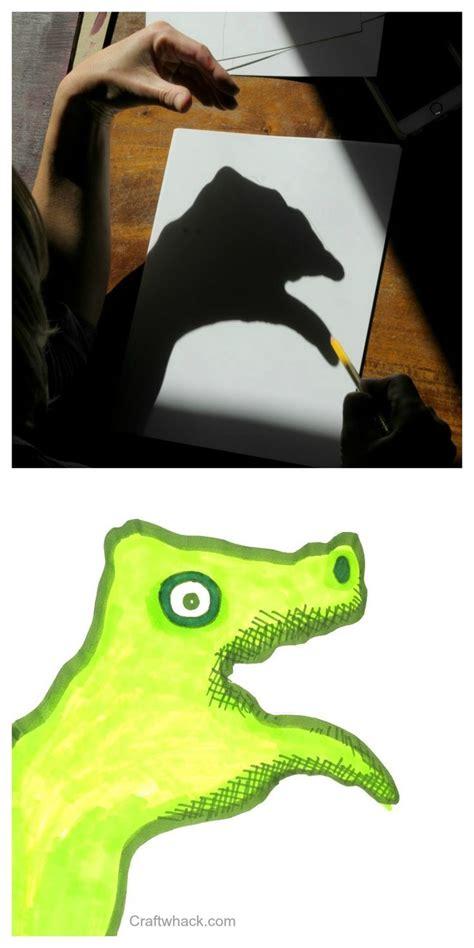 horrific hand shadow monster drawings  doom halloween