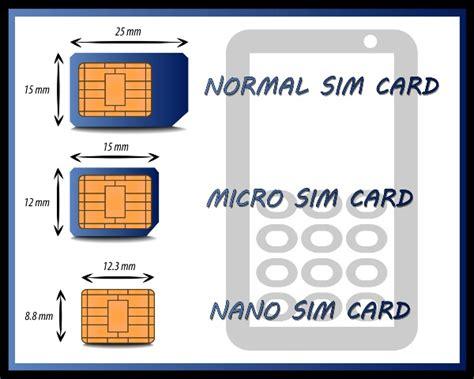 sim karte tauschen zu micro oder nano sim